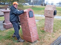 brick mailbox flag. Image Of: Build Brick Mailbox Kit Flag I