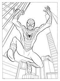 Spiderman 2 Coloriage Spiderman Coloriages Pour Enfants