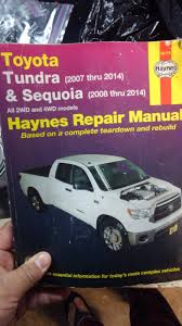 Chilton or Haynes | Toyota Tundra Forum