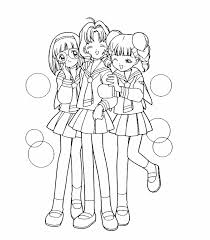Small Picture Cardcaptor Sakura Coloring Pages Printable Games Coloring