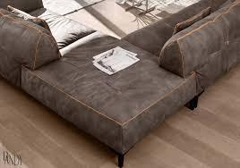 Gamma Arredamenti - Neo Furniture inside High End Leather Sectional Sofa  (Image 3 of 25