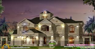 exterior colonial house design. Colonial Style Home Exterior House Design Kerala And Floor Plans