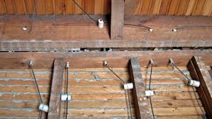 is knob and tube electrical wiring safe angie s list knob and tube electrical wiring on rafters in house