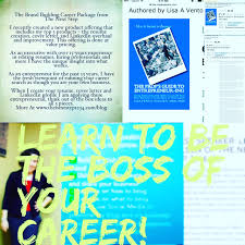 lisa vento nielsen expert on career resumes and linkedin profiles book the prof s guide to entrepreneur ing using entrepreneurial skills to launch your own business or be the boss of your career