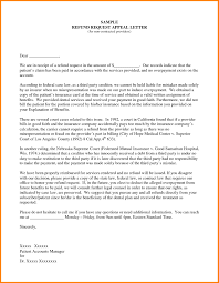 Sample Insurance Appeal Letter For Authorization Best Business