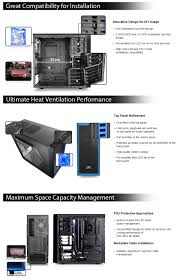 deepcool tesseract sw mid tower chassis black blue a popular choice for many diy enthusiasts and gamers it supports 310mm long graphic cards six fans mini itx micro atx or atx motherboards and cpu