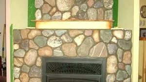 river rock fireplace mantels faux rock fireplace faux rock fireplace pioneering faux rock fireplace fireplaces faux rock fireplace mantels faux home