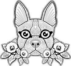 Small Picture Marvellous Design Dog Coloring Pages For Adults 335 Best FREE