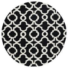 kaleen revolution black 7 ft 9 in x round area rug