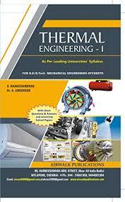 THERMAL ENGINEERING - 1, RAMACHANDRAN S, ANDERSON A, eBook - Amazon.com