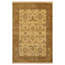 indo hand knotted mahal wool rug 4 x 5 8 herat oriental rugs
