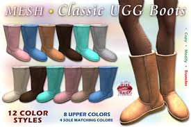 Second Life Marketplace Promo Mesh Classic Ugg