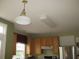 replace fluorescent light fixture in kitchen youskitchen