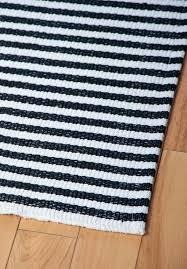 black white striped runner rug designs