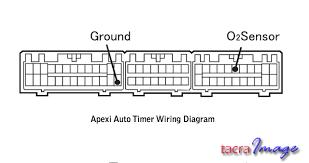tacra s diy garage apexi auto timer pen type installation ini diagram pinout yang mesti diikuti untuk menyambungkan wayar hitam dan putih tadi iaitu wire hitam tap pada pin ground seperti yang dipaparkan di atas
