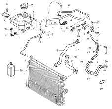 buy porsche cayenne mki water coolant hoses porsche 955 cayenne 4 5l s not turbo