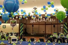 Sports Themed Balloon Decor Mylar Names In Balloons Balloon Artistry