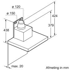 Máy Hút Mùi Bosch DWB77CM50 - Nhập Khẩu Đức
