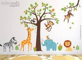 wall decal jungle wall sticker