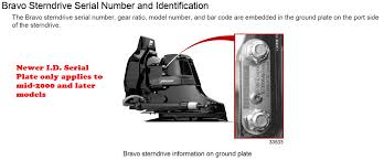 mercruiser sterndrives the serial number is located on the upper drive shaft housing starboard side or on the back of the housing