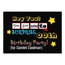 Any Year Surprise Birthday Party Template V02a
