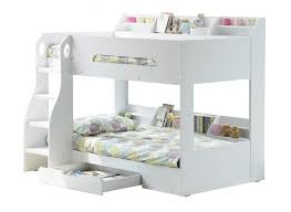 flair flick wooden bunk bed white