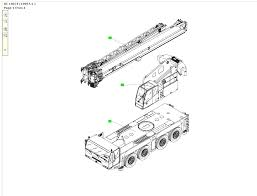 spare parts terex demag catalogue mobile cranes drawings in the window you will see the drawing of chosen on the menu the element on herself mountain the information is about the of being found in