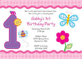 invitation templates for first birthday party best first birthday party invitations templates free elegant first