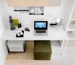 attractive modern children s desk designs image 14 green white contemporary study room