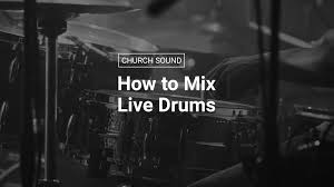 Mixing Live Drums Eq Compression Gating