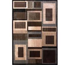 geometric area rugs 8x10 bazaar gal black brown 8 ft x ft indoor area rug furniture