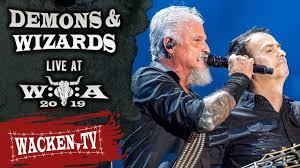 <b>Demons</b> & <b>Wizards</b> - <b>2</b> Songs - Live at Wacken Open Air 2019 i 2020