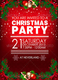 Microsoft Christmas Party Christmas Party Flyer Template Microsoft Inspirational Invitation