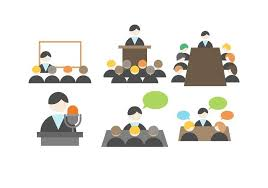 meeting free free business meeting vector download free vector art stock