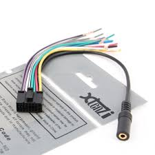 xtenzi wire harness radio in dash aftermarket cable plug xtenzi wire harness radio for dual xdma6415 xdma6630 xdma6540 xml8150 mic input