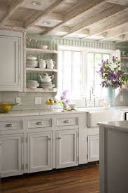 excellent home office country kitchen ideas white cabinets inside painted beadboard backsplash cottage bhg home office country kitchen ideas white cabinets w48 country