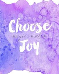 Purple Quotes Mesmerizing Choose Joy Quote With Cute Purple Watercolor Background