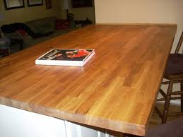 wood countertops good idea with laminate butcher block countertops