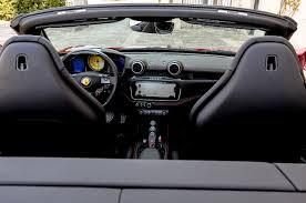 ferrari portofino interior. ferrari portofino front interior view from rear. erika pizano february 13, 2018 r