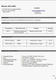 copy of resume excellent curriculum vitae   resume   cv format    copy of resume excellent curriculum vitae   resume   cv format   career objective job profile