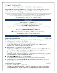 registered nurse sample resumes new rn sample resume and nursing student resume sample 15 sample rn