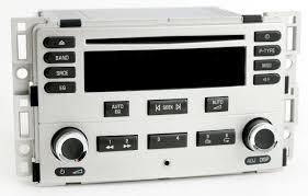 Chevy 2005-06 Cobalt Silver Radio AM FM CD w Aux iPod mp3 Input ...