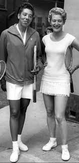 Angela Buxton and Althea Gibson modeled Black-Jewish partnership – The  Forward