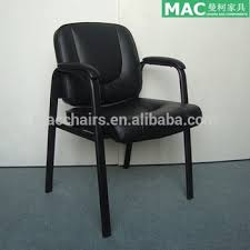 leather office chair no wheels. leather office chair without wheels 150kgs silla de visita 4008-a no h