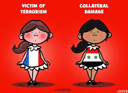 Image result for SYRIA CHILDREN propaganda war CARTOON