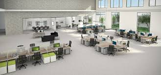 open plan office design ideas. Blade Benching System Open Plan Office Design Ideas