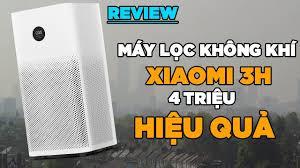 Review máy lọc không khí Xiaomi Air Purifier 3H - hiệu quả giá hợp lí! -  YouTube