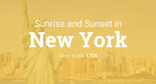 Sun Up Sun Down Chart Sunrise And Sunset Times In New York December 2019