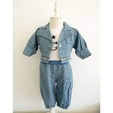 Set trang phục phong cách vintage thời trang cho bé trai