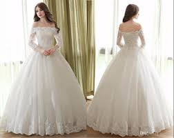 cheap white ball gown 2017 wedding dresses lace up back long